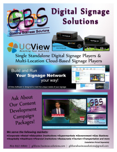 GBS Digital Signage Flyer